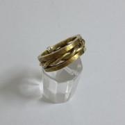 ΔΜΠ003-Δαχτυλίδι χειροποίητο από ορείχαλκο-15ευρώ
