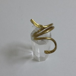 ΔΜΠ007-Δαχτυλίδι χειροποίητο από ορείχαλκο-10ευρώ
