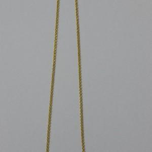 ΚΜΠ025-Κολιέ με πέτρες χαολίτη σε αλυσίδα-8ευρώ