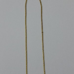 ΚΜΠ027-Κολιέ με πέτρες αχάτη σε αλυσίδα-8ευρώ