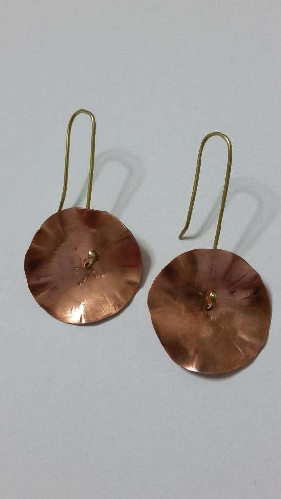 ΣΜΠ013-Σκουλαρίκια χειροποίητα από χαλκό-10ευρώ 1eebbbe209e