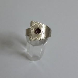 Δαχτυλίδι χειροποίητο από αρζαντό
